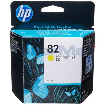 HP NO 82 INK YELLOW 69ML